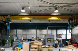 Halverlichting werkplaatsen LED